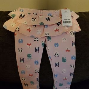 Carter's Bottoms - Carter's NWT character ruffle pants